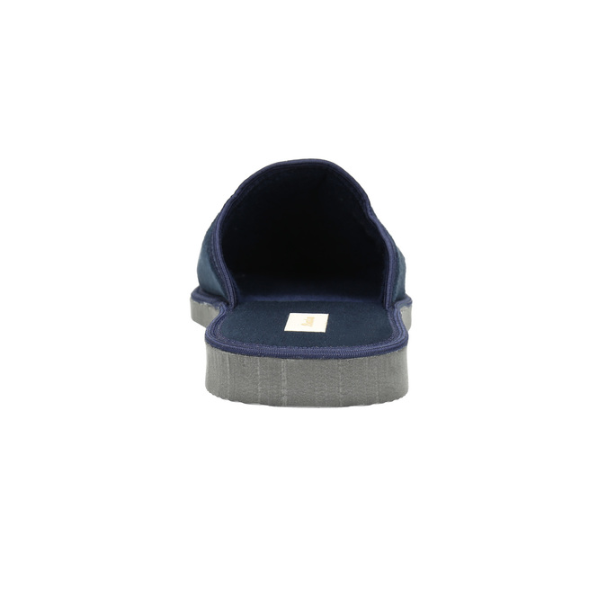 Pánska domáca obuv s plnou špicou bata, modrá, 879-9605 - 17