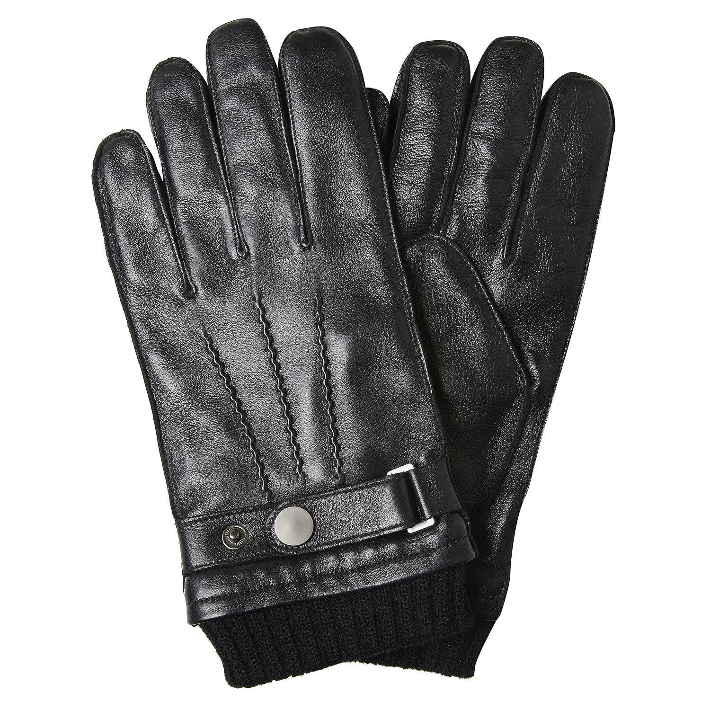 017c2a8e4 Pánske kožené rukavice bata, čierna, 904-6127 - 13