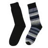 Pánske ponožky 2 páry bata, čierna, 919-6411 - 26
