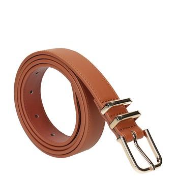 Hnedý dámsky opasok bata, hnedá, 951-3601 - 13