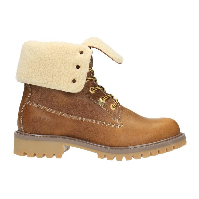 Dámska zimná obuv weinbrenner, hnedá, 596-4638 - 15