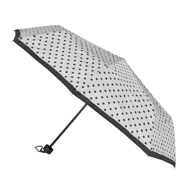 Skladací dáždnik s bodkami bata, biela, 909-8601 - 13