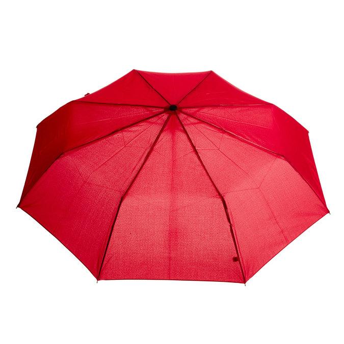 Červený skladací dáždnik bata, červená, 909-5600 - 26