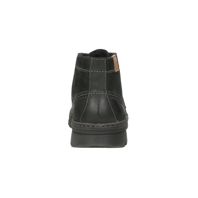 Kožená pánska členková obuv weinbrenner, šedá, 896-2107 - 17