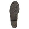 Dámske členkové čižmy bata, šedá, 699-2632 - 26