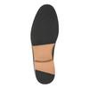 Pánske kožené poltopánky na silnějšej podrážke bata, modrá, 826-9809 - 26