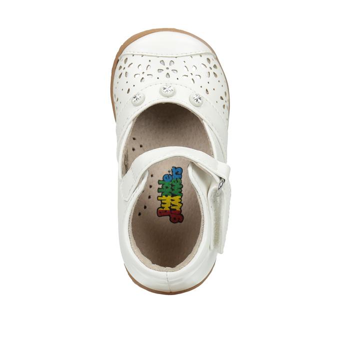 Dievčenská členková obuv bubblegummers, biela, 121-1617 - 19