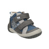 Detská členková obuv s denimovými detailami bubblegummers, modrá, 111-9614 - 13