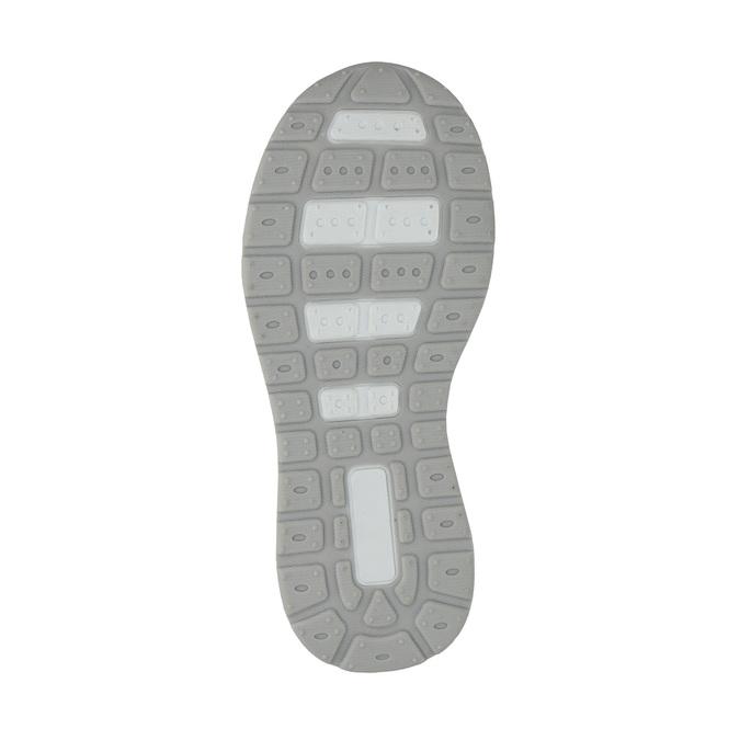Detské tenisky s trblietkami mini-b, šedá, 221-2603 - 26