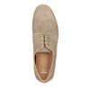 Ležérne kožené poltopánky bata, béžová, 843-8623 - 19