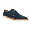 Ležérne kožené poltopánky bata, modrá, 843-9623 - 13
