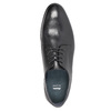Pánske čierne kožené poltopánky bata, čierna, 824-6813 - 19
