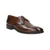 Hnedé kožené poltopánky bata, hnedá, 826-4796 - 13