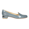 Kožená dámska obuv v štýle Loafers bata, modrá, 518-9600 - 15