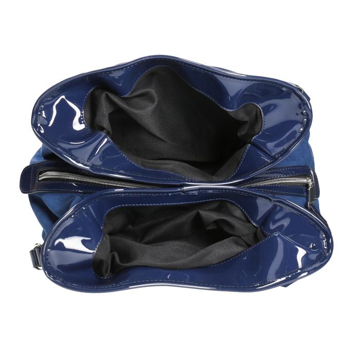 Modrá dámska kabelka bata, modrá, 969-9280 - 15