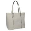 Dámska kabelka s perforovaným detailom bata, šedá, 961-2711 - 13