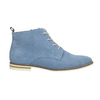 Kožená obuv nad členky bata, modrá, 593-9602 - 15