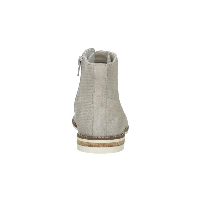 Členková dámska obuv bata, šedá, 593-1602 - 17
