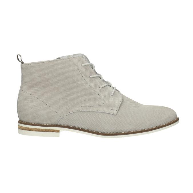 Členková dámska obuv bata, šedá, 593-1602 - 15