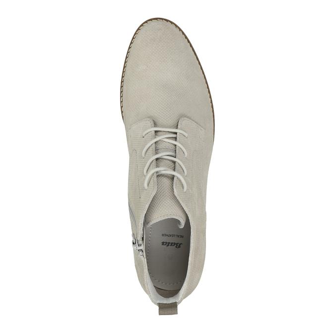 Členková dámska obuv bata, šedá, 593-1602 - 19