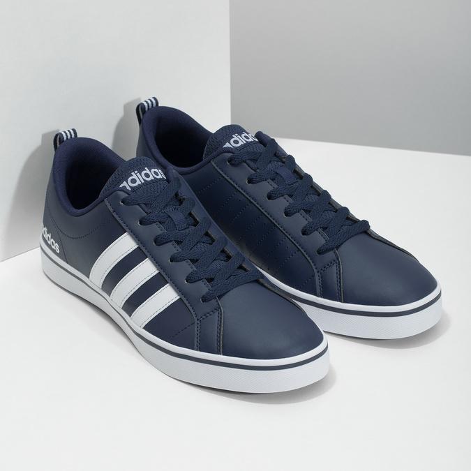 Pánske ležérne tenisky adidas, modrá, 801-9136 - 26