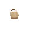 Dámske kožené baleríny bata, béžová, 526-8620 - 17