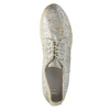 Zlaté kožené tenisky bata, strieborná, 526-8633 - 19