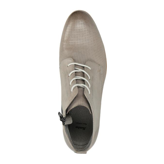 Kožená členková obuv bata, hnedá, 596-2645 - 19