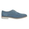 Modré kožené poltopánky bata, modrá, 523-9600 - 15