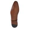 Pánske kožené poltopánky bata, hnedá, 826-3836 - 26