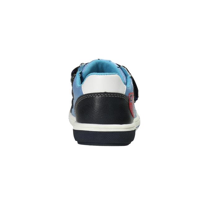 Detská obuv na suchý zips mini-b, modrá, 211-9607 - 17