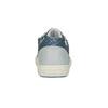 Dievčenské tenisky s detailom šupín mini-b, modrá, 321-9604 - 17
