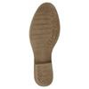Kožené členkové čižmy bata, šedá, 596-2653 - 26