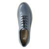 Dámske kožené tenisky modré bata, modrá, 526-9618 - 19