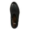 Kožené dámske jarné čižmy bata, čierna, 696-6643 - 19
