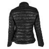 Prešívaná bunda s golierom bata, čierna, 979-6206 - 26
