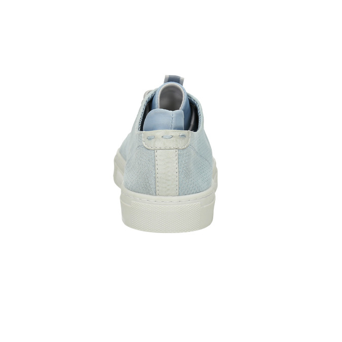 Kožené dámske tenisky bata, modrá, 523-9601 - 17