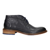 Celokožená členková obuv bata, modrá, 826-9909 - 15
