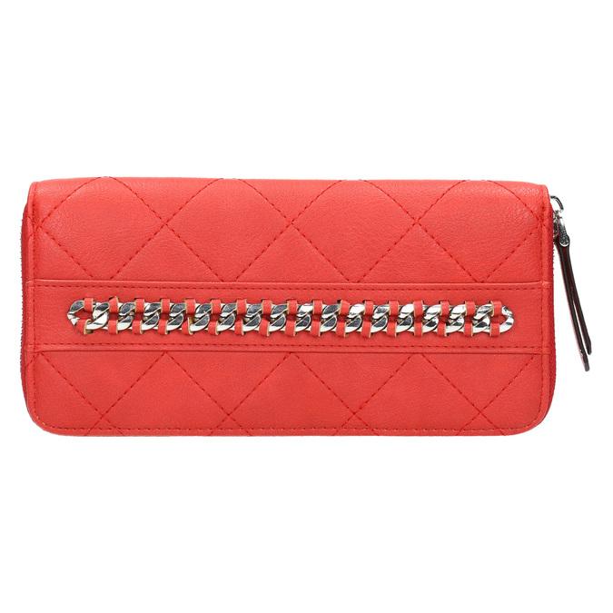 Červená peňaženka s retiazkou bata, červená, 941-5146 - 26