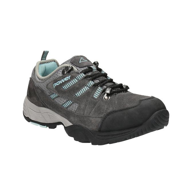 Dámske kožené Outdoor topánky power, šedá, 503-2118 - 13