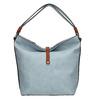 Modrá kabelka v Hobo štýle bata, modrá, 961-9705 - 26