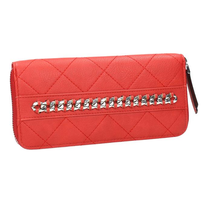 Červená peňaženka s retiazkou bata, červená, 941-5146 - 13
