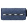 Dámska peňaženka s prešívaním bata, modrá, 941-9146 - 26