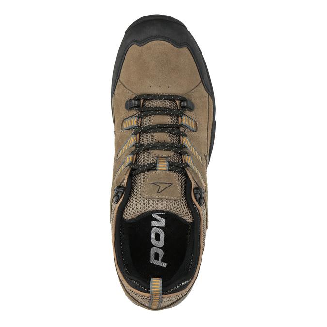 Kožená Outdoor obuv power, hnedá, 803-3118 - 19