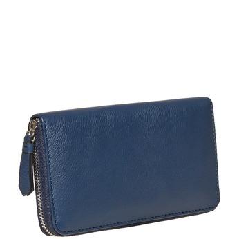 Dámska kožená peňaženka modrá bata, modrá, 944-9178 - 13