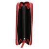 Červená kožená peňaženka bata, červená, 944-5178 - 15