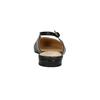 Baleríny s remienkom cez pätu bata, čierna, 526-6616 - 17