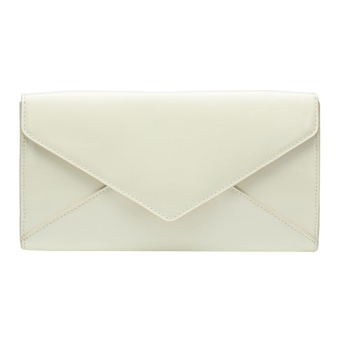 Lakovaná listová kabelka s retiazkou bata, biela, 961-1685 - 26