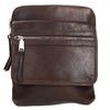 Kožená taška Crossbody bata, hnedá, 964-4237 - 19
