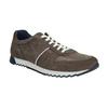 Pánske kožené tenisky bata, hnedá, 843-4624 - 13